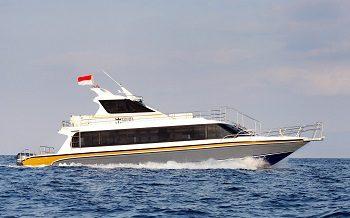 crwon fast cruise to nusa penida from sanur bali